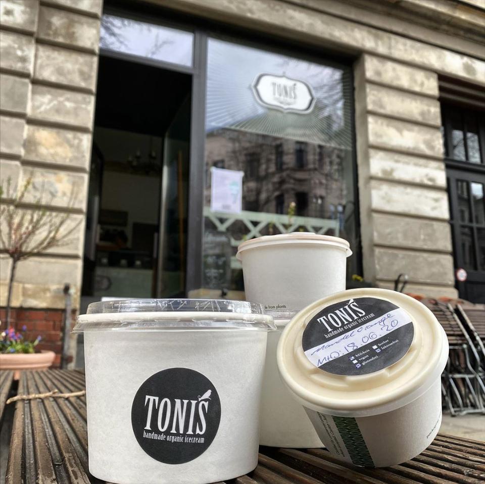 TONIS organic icecream - local heroes leipzig