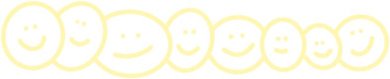 ein paar liebe nette smileys, über die wir uns freuen
